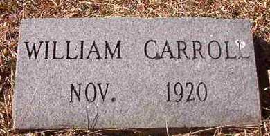 CARROLL, WILLIAM - Pike County, Arkansas   WILLIAM CARROLL - Arkansas Gravestone Photos
