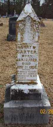 CARTER  (VETERAN CSA), HENRY WILLIAM - Pike County, Arkansas | HENRY WILLIAM CARTER  (VETERAN CSA) - Arkansas Gravestone Photos