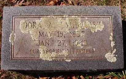 LAMB CASH, DORA A - Pike County, Arkansas | DORA A LAMB CASH - Arkansas Gravestone Photos