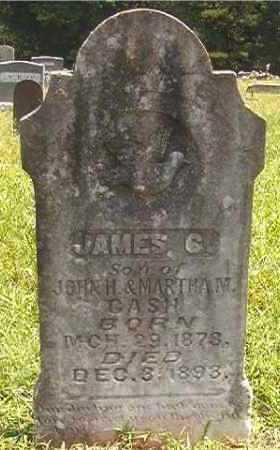CASH, JAMES G - Pike County, Arkansas | JAMES G CASH - Arkansas Gravestone Photos