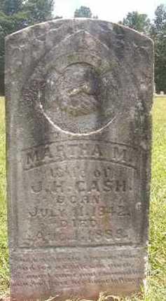 CASH, MARTHA M - Pike County, Arkansas | MARTHA M CASH - Arkansas Gravestone Photos