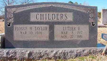 CHILDERS, LUTHER E - Pike County, Arkansas   LUTHER E CHILDERS - Arkansas Gravestone Photos
