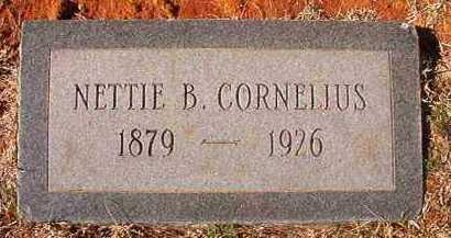 CORNELIUS, NETTIE B - Pike County, Arkansas | NETTIE B CORNELIUS - Arkansas Gravestone Photos