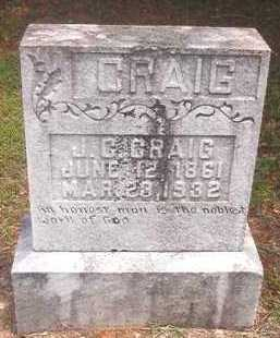CRAIG, J C - Pike County, Arkansas | J C CRAIG - Arkansas Gravestone Photos