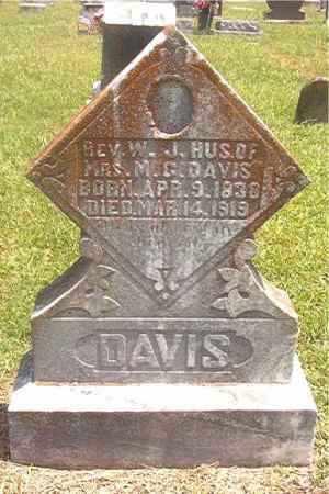 DAVIS  (VETERAN CSA), REV WILLIAM JACKSON - Pike County, Arkansas | REV WILLIAM JACKSON DAVIS  (VETERAN CSA) - Arkansas Gravestone Photos