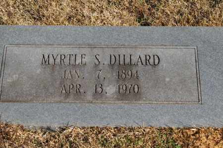 STONECIPHER DILLARD, MYRTLE - Pike County, Arkansas | MYRTLE STONECIPHER DILLARD - Arkansas Gravestone Photos