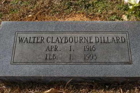 DILLARD, WALTER CLAYBOURNE - Pike County, Arkansas   WALTER CLAYBOURNE DILLARD - Arkansas Gravestone Photos