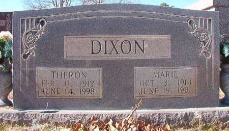 DIXON, THERON - Pike County, Arkansas | THERON DIXON - Arkansas Gravestone Photos