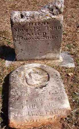 DUNN, STERLING PATRICK - Pike County, Arkansas | STERLING PATRICK DUNN - Arkansas Gravestone Photos