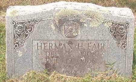 FAIR, HERMAN H - Pike County, Arkansas   HERMAN H FAIR - Arkansas Gravestone Photos
