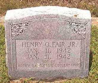 FAIR, HENRY O, JR - Pike County, Arkansas | HENRY O, JR FAIR - Arkansas Gravestone Photos