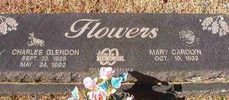 FLOWERS, CHARLES GLENDON - Pike County, Arkansas   CHARLES GLENDON FLOWERS - Arkansas Gravestone Photos