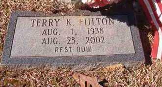 FULTON, TERRY K - Pike County, Arkansas | TERRY K FULTON - Arkansas Gravestone Photos