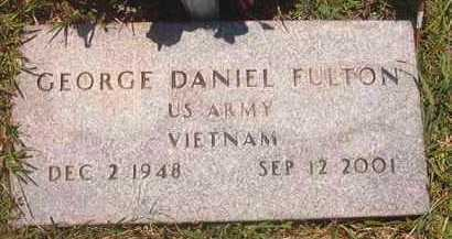 FULTON (VETERAN VIET), GEORGE DANIEL - Pike County, Arkansas | GEORGE DANIEL FULTON (VETERAN VIET) - Arkansas Gravestone Photos