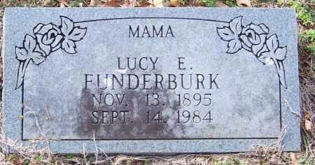 FUNDERBURK, LUCY ELLA - Pike County, Arkansas | LUCY ELLA FUNDERBURK - Arkansas Gravestone Photos