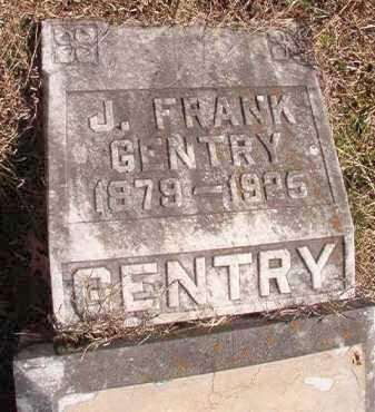 GENTRY, J FRANK - Pike County, Arkansas   J FRANK GENTRY - Arkansas Gravestone Photos