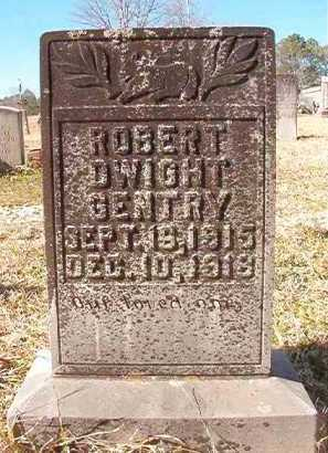 GENTRY, ROBERT DWIGHT - Pike County, Arkansas   ROBERT DWIGHT GENTRY - Arkansas Gravestone Photos
