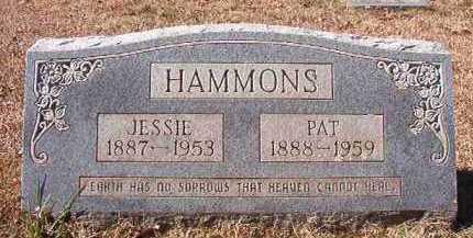 HAMMONS, JESSIE - Pike County, Arkansas   JESSIE HAMMONS - Arkansas Gravestone Photos