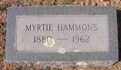 HAMMONS, MYRTIE - Pike County, Arkansas | MYRTIE HAMMONS - Arkansas Gravestone Photos