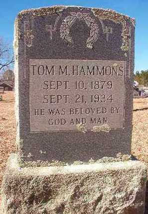 HAMMONS, TOM M - Pike County, Arkansas | TOM M HAMMONS - Arkansas Gravestone Photos