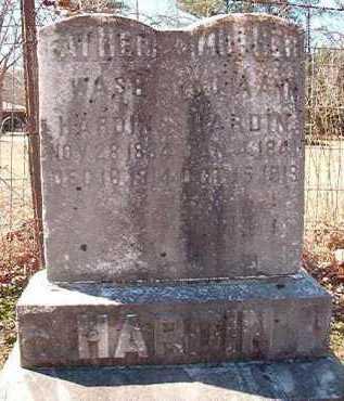 HARDIN, WASH - Pike County, Arkansas | WASH HARDIN - Arkansas Gravestone Photos