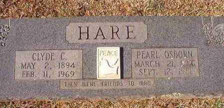 OSBORN HARE, PEARL - Pike County, Arkansas | PEARL OSBORN HARE - Arkansas Gravestone Photos