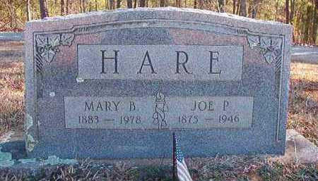 HARE, MARY B - Pike County, Arkansas   MARY B HARE - Arkansas Gravestone Photos
