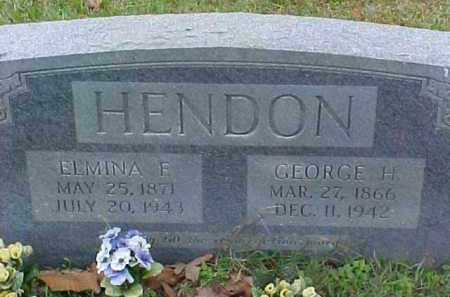 HENDON, ELMINA FRANCIS - Pike County, Arkansas | ELMINA FRANCIS HENDON - Arkansas Gravestone Photos