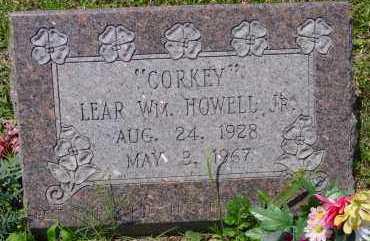 HOWELL, LEAR WILLIAM, JR - Pike County, Arkansas   LEAR WILLIAM, JR HOWELL - Arkansas Gravestone Photos