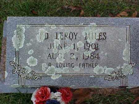 MILES, ED LEROY - Pike County, Arkansas | ED LEROY MILES - Arkansas Gravestone Photos