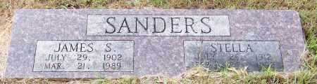 SANDERS, JAMES SAMUEL - Pike County, Arkansas | JAMES SAMUEL SANDERS - Arkansas Gravestone Photos