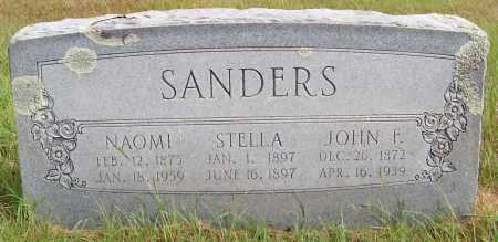 SANDERS, NAOMI REBECCA JANE - Pike County, Arkansas | NAOMI REBECCA JANE SANDERS - Arkansas Gravestone Photos
