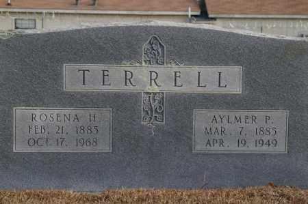 TERRELL, ROSENA - Pike County, Arkansas | ROSENA TERRELL - Arkansas Gravestone Photos