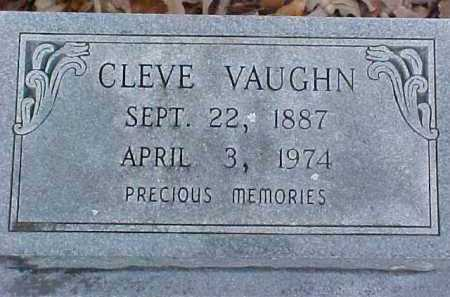 "VAUGHN, GEORGE CLEVELAND ""CLEVE"" - Pike County, Arkansas 