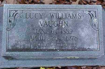 VAUGHN, LUCY BELLE - Pike County, Arkansas   LUCY BELLE VAUGHN - Arkansas Gravestone Photos