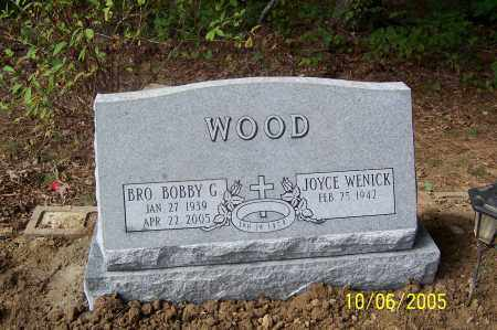 WOOD, BOBBY G. - Pike County, Arkansas   BOBBY G. WOOD - Arkansas Gravestone Photos