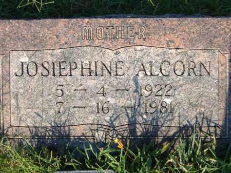 ALCORN, JOSIEPHINE - Poinsett County, Arkansas   JOSIEPHINE ALCORN - Arkansas Gravestone Photos