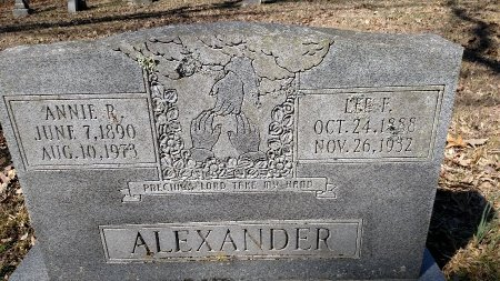 ALEXANDER, LEE F. - Poinsett County, Arkansas | LEE F. ALEXANDER - Arkansas Gravestone Photos