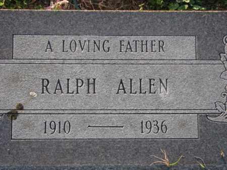 ALLEN, RALPH ALLEN - Poinsett County, Arkansas | RALPH ALLEN ALLEN - Arkansas Gravestone Photos