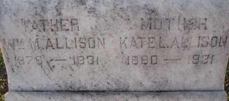 ALLISON, WILLIAM M. - Poinsett County, Arkansas | WILLIAM M. ALLISON - Arkansas Gravestone Photos
