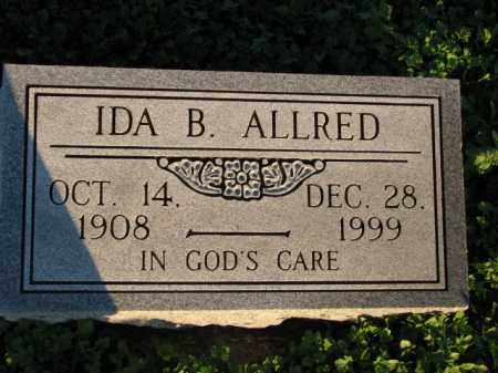 ALLRED, IDA B. - Poinsett County, Arkansas   IDA B. ALLRED - Arkansas Gravestone Photos