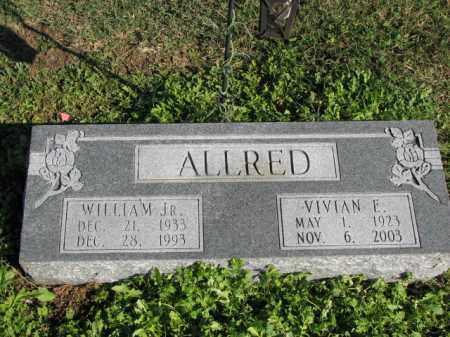 ALLRED, VIVIAN, E. - Poinsett County, Arkansas | VIVIAN, E. ALLRED - Arkansas Gravestone Photos