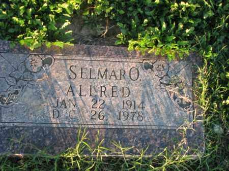 ALLRED, SELMAR O. - Poinsett County, Arkansas | SELMAR O. ALLRED - Arkansas Gravestone Photos