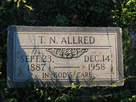 ALLRED, T. N. - Poinsett County, Arkansas | T. N. ALLRED - Arkansas Gravestone Photos