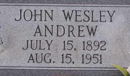 ANDREW, JOHN WESLEY - Poinsett County, Arkansas | JOHN WESLEY ANDREW - Arkansas Gravestone Photos