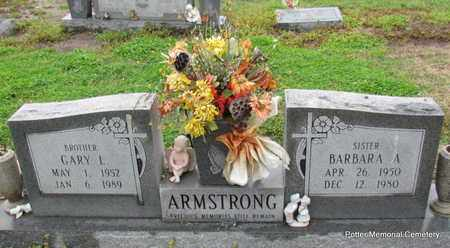 ARMSTRONG, GARY L (BROTHER) - Poinsett County, Arkansas | GARY L (BROTHER) ARMSTRONG - Arkansas Gravestone Photos