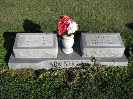 ARMSTRONG, SCOTT W. - Poinsett County, Arkansas   SCOTT W. ARMSTRONG - Arkansas Gravestone Photos