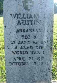 AUSTIN  (VETERAN WWII), WILLIAM L. - Poinsett County, Arkansas | WILLIAM L. AUSTIN  (VETERAN WWII) - Arkansas Gravestone Photos