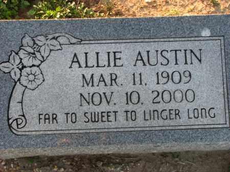 AUSTIN, ALLIE - Poinsett County, Arkansas   ALLIE AUSTIN - Arkansas Gravestone Photos