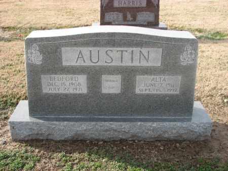AUSTIN, BEDFORD - Poinsett County, Arkansas | BEDFORD AUSTIN - Arkansas Gravestone Photos